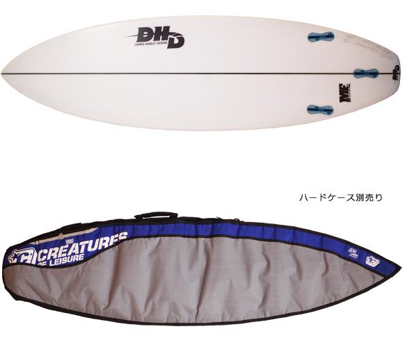 DHD 中古ショートボード 5`11 MF DUCKS NUTS ハードケース/OPTION No.96291258