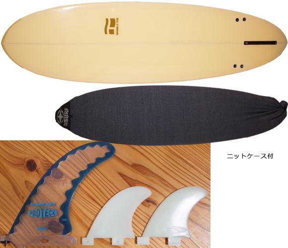 T-STICK 中古ファンボード 6`6 フィン/ボードケース No.96291259