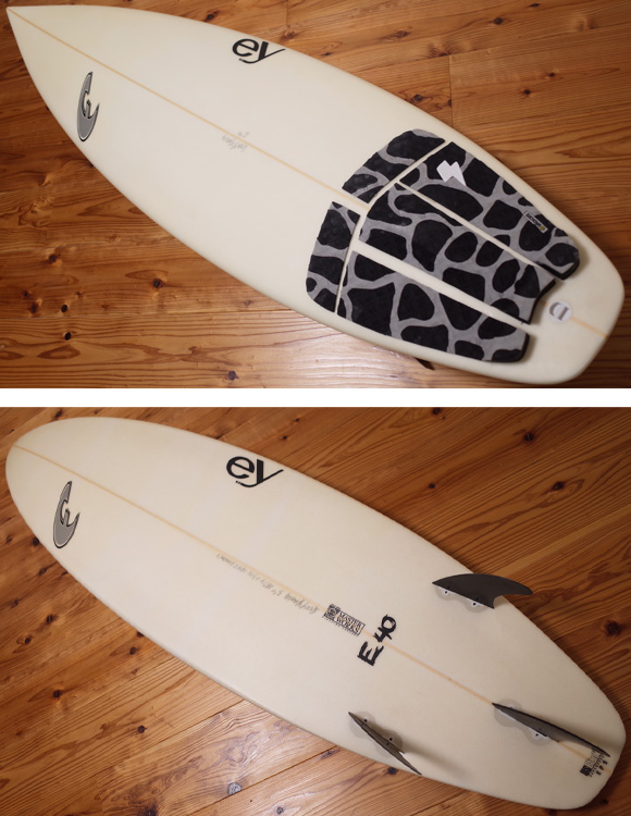 FADE  E40 EPS 中古ショートボード 5`11 ey deck/bottom No.96291261