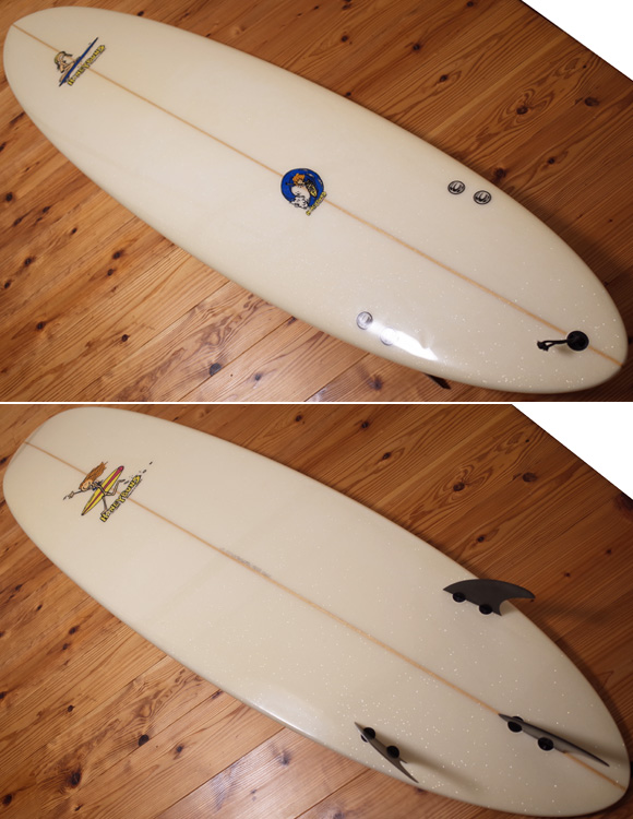 HONEY BUNS 中古ファンボード7`6 deck/bottom No.96291262