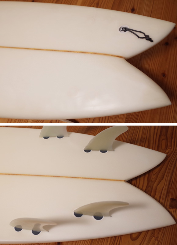 CROSS GEAR Ⅱ 中古フィッシュボード 6`2 tail No.96291263