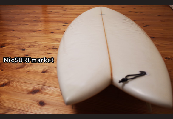 CROSS GEAR Ⅱ 中古フィッシュボード 6`2 deck-detail No.96291263