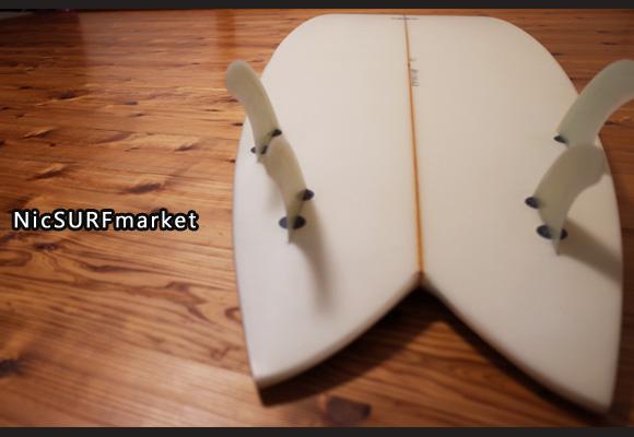 CROSS GEAR Ⅱ 中古フィッシュボード 6`2 bottom-design No.96291263