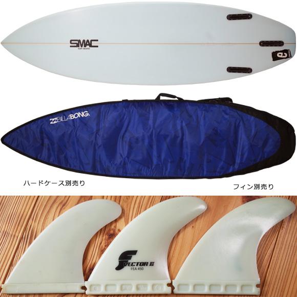 SMAC 中古ショートボード 6`1 e-STD スタンダード fin/option No.96291265