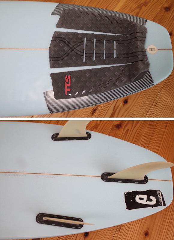 SMAC 中古ショートボード 6`1 e-STD スタンダード tail No.96291265