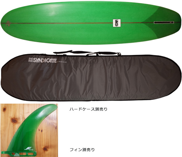 EDNA 中古ファンボード「セミロング」 7`11 fin/ハードケース No.96291268