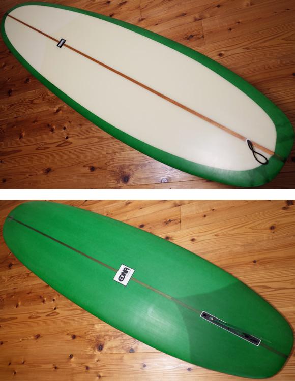 EDNA 中古ファンボード「セミロング」 7`11 deck/bottom No.96291268