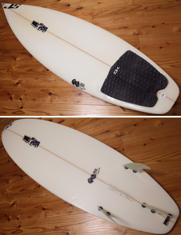 JS industries BRUCE IRONS 中古ショートボード 5`11 deck/bottom No.96291272