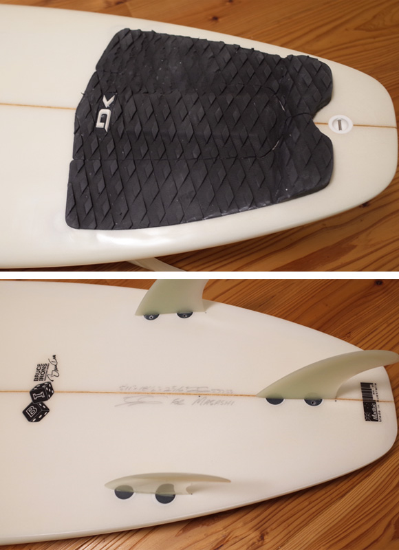 JS industries BRUCE IRONS 中古ショートボード 5`11 tail No.96291272