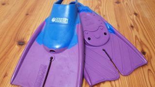 CEEDEX 中古フィン/ボディボード用 Mサイズ 青/紫 No.96291275