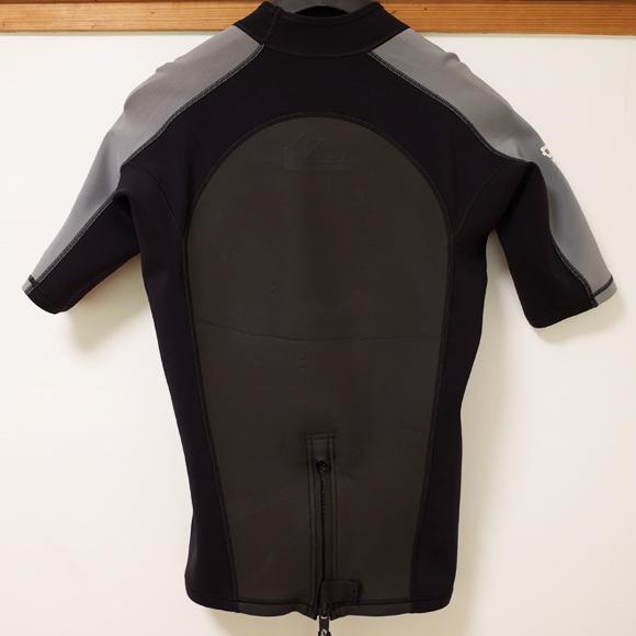 QUIKSILVER 中古ウェットスーツ タッパー SYNCRO1.5mm Men's back No.96291278
