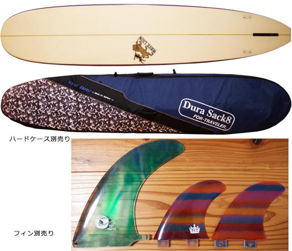 WAVE LION 中古ロングボード 9`2 fin/ハードケース No.96291280