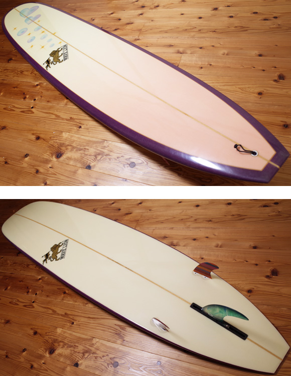 WAVE LION 中古ロングボード 9`2 deck/bottom No.96291280