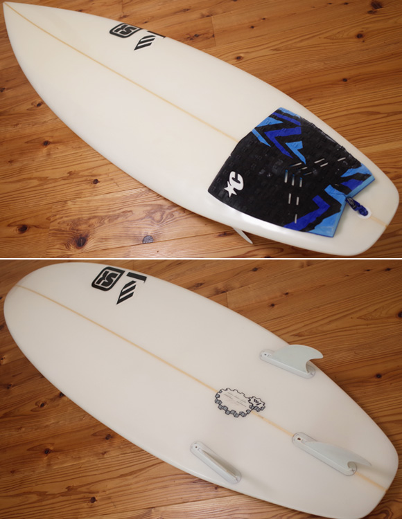 SK SURFBOARD FY 中古ショートボード 5`10 deck/bottom No.96291281