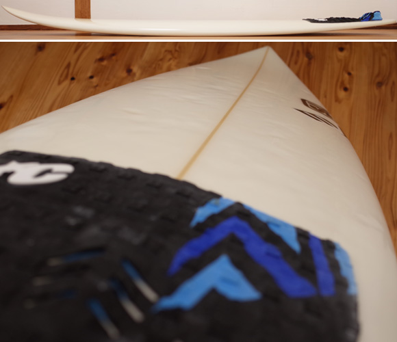 SK SURFBOARD FY 中古ショートボード 5`10 deck-condition No.96291281