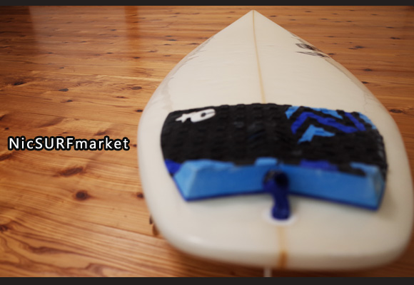 SK SURFBOARD FY 中古ショートボード 5`10 deck-detail No.96291281