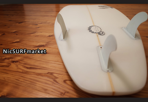 SK SURFBOARD FY 中古ショートボード 5`10 bottom-design No.96291281