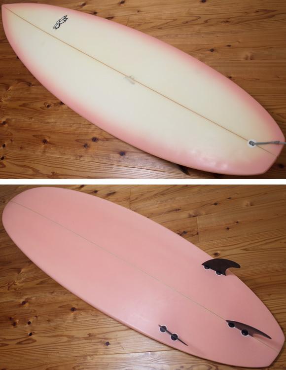 SAKURA SURF 中古ショートボード 6`6 deck/bottom No.96291285