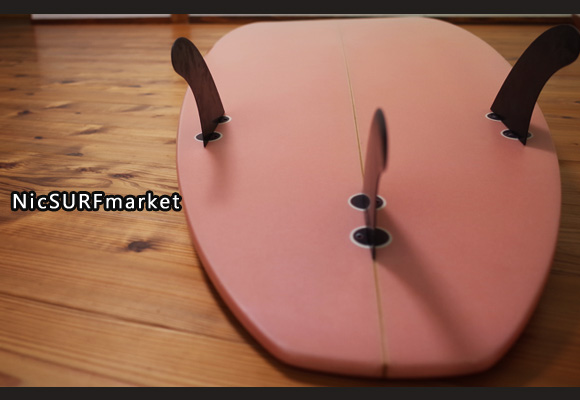 SAKURA SURF 中古ショートボード 6`6 bottom-desgin No.96291285