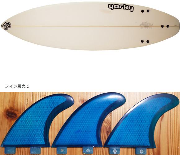 YORKY 中古ショートボード 6`3 fin/option No.96291286