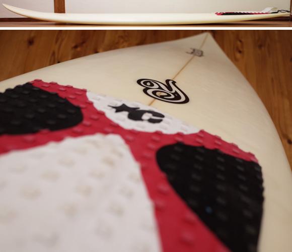 YORKY 中古ショートボード 6`3 deck-condition No.96291286