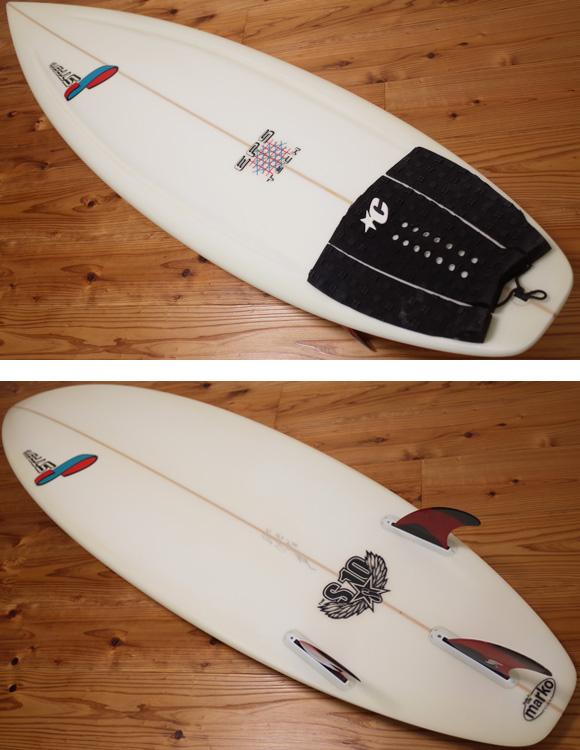 STRETCH S10 EPS 中古ショートボード 6`1 deck/bottom No.96291290