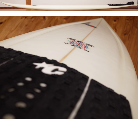 STRETCH S10 EPS 中古ショートボード 6`1 deck-condition No.96291290