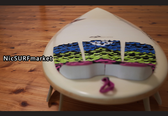 FIREWIRE DOMINATOR 中古ショートボード 5`6 deck-detail No.96291291