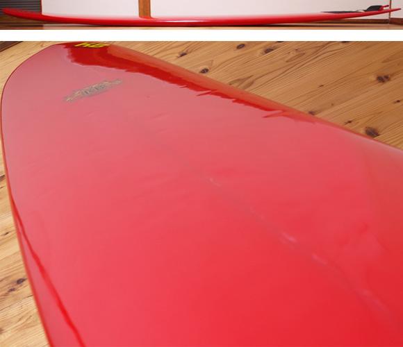 KB 中古ロングボード 9`2 KIRK BIERKE ROUNDCD CONCAVE NOSERIDER deck-condition No.96291293