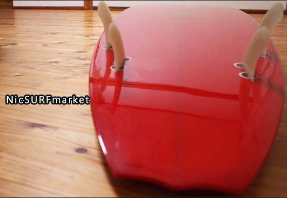 KB 中古ロングボード 9`2 KIRK BIERKE ROUNDCD CONCAVE NOSERIDER bottom-design No.96291293