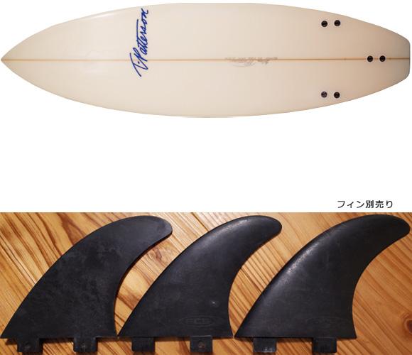 Timmy Patterson J-FILE 中古ショートボード 5`11 fin/option No.96291298