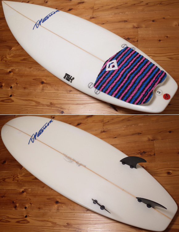 Timmy Patterson J-FILE 中古ショートボード 5`11 deck/bottom No.96291298