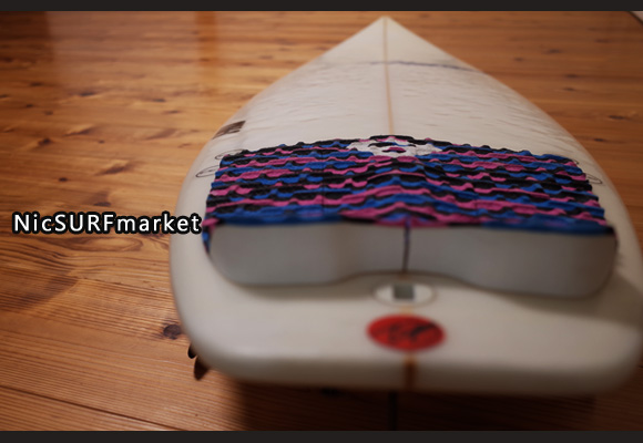Timmy Patterson J-FILE 中古ショートボード 5`11 deck-detail No.96291298