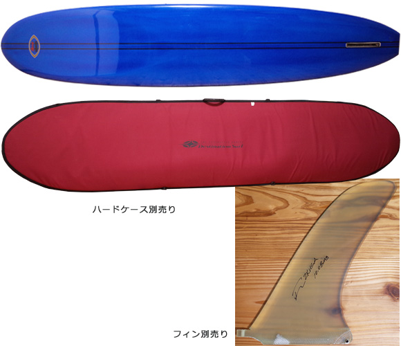 BING Light Weight NoseRider 中古ロングボード 9`6  fin/ハードケース No.96291303