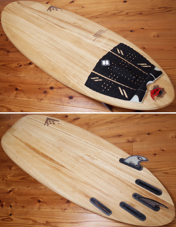 FIREWIRE GREEDY BEAVER 中古ショートボード 5`8 TIMBER TEK deck/bottom No.96291304