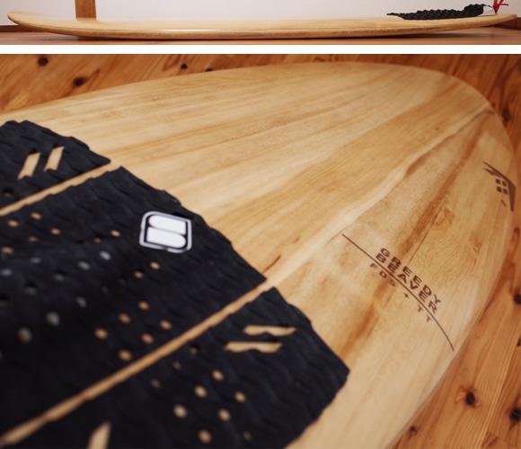 FIREWIRE GREEDY BEAVER 中古ショートボード 5`8 TIMBER TEK deck-condition No.96291304