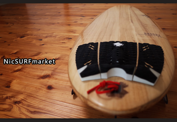 FIREWIRE GREEDY BEAVER 中古ショートボード 5`8 TIMBER TEK deck-detail No.96291304