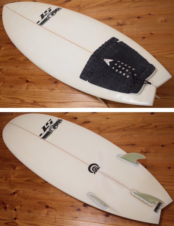 JS industries SONIC 中古ショートボード 5`6 deck/bottom No.96291305