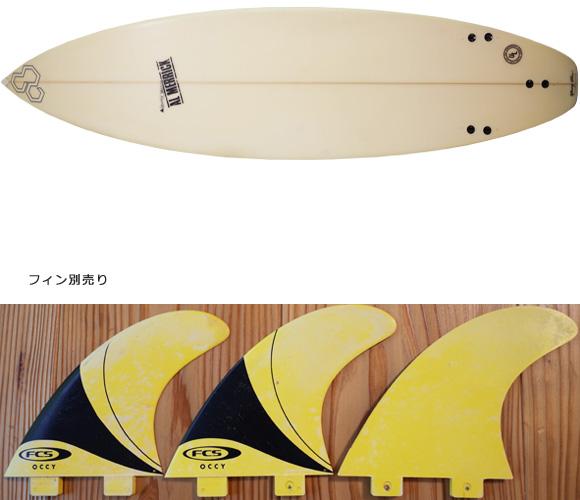 アルメリック MXモデル 中古ショートボード 6`4 fin/option No.96291308