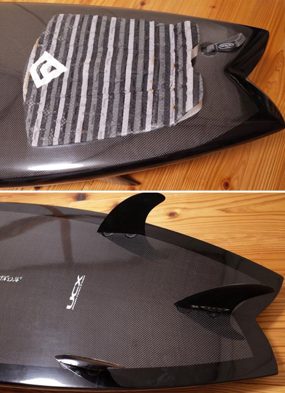 ライトニングボルト UCX 中古ショートボード 5`6 tail  No.96291309