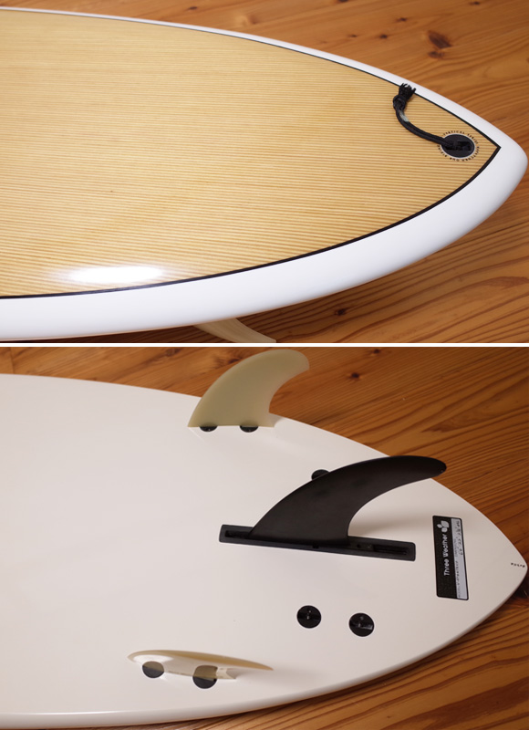 スリーウェザー HAPPY TURN 中古ファンボード 6`6 EPS tail No.96291310