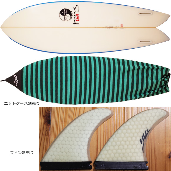 T&C / TOWN & COUNTRY 中古レトロツイン 5`8 G.PANG fin/ニットケース No.96291311