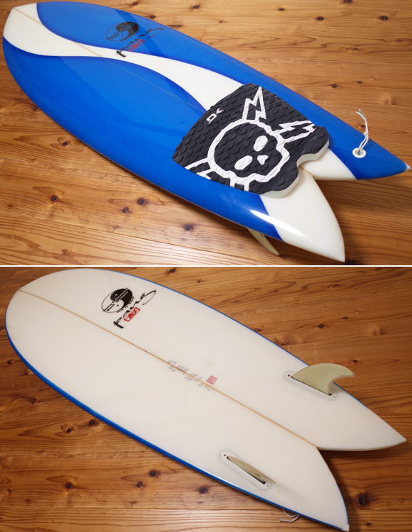 T&C / TOWN & COUNTRY 中古レトロツイン 5`8 G.PANG deck/bottom No.96291311