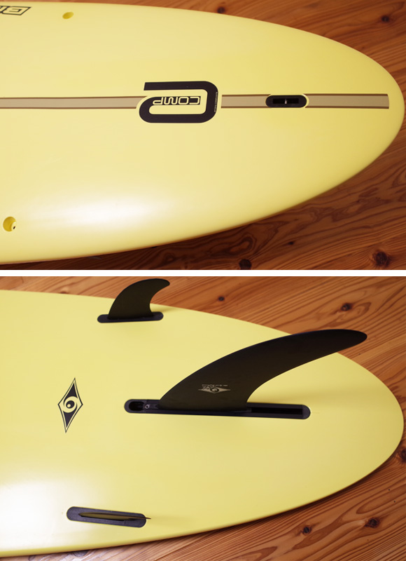 BIC SURF Noserider E-COMP 中古ロングボード9`4 tail No.96291319