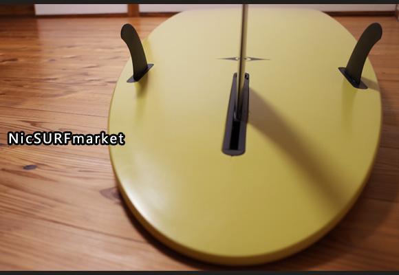 BIC SURF Noserider E-COMP 中古ロングボード9`4 bottom-desaign No.96291319