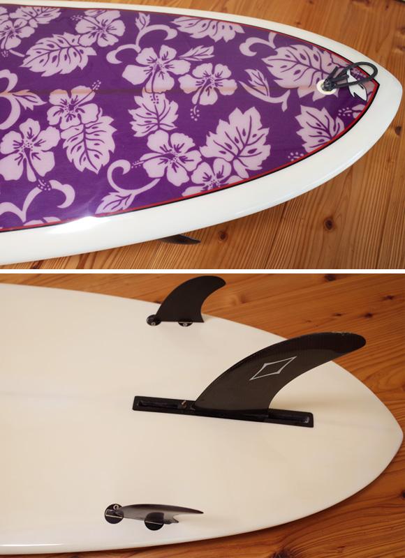 TAKE'S テイクス 中古ファンボード 6`11 CHOP STICK tail No.96291320