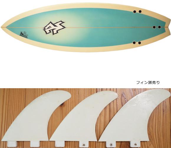 ROCKDANCE 中古ショートボード 5`11 CUSTOM fin/option No.96291322