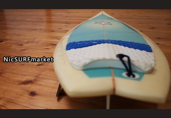 ROCKDANCE 中古ショートボード 5`11 CUSTOM deck-detail No.96291322