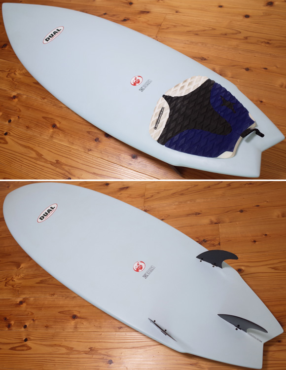 DUAL Surfboard EPS 中古ショートボード 5`11 MASTER WORKS deck/detail No.96291326