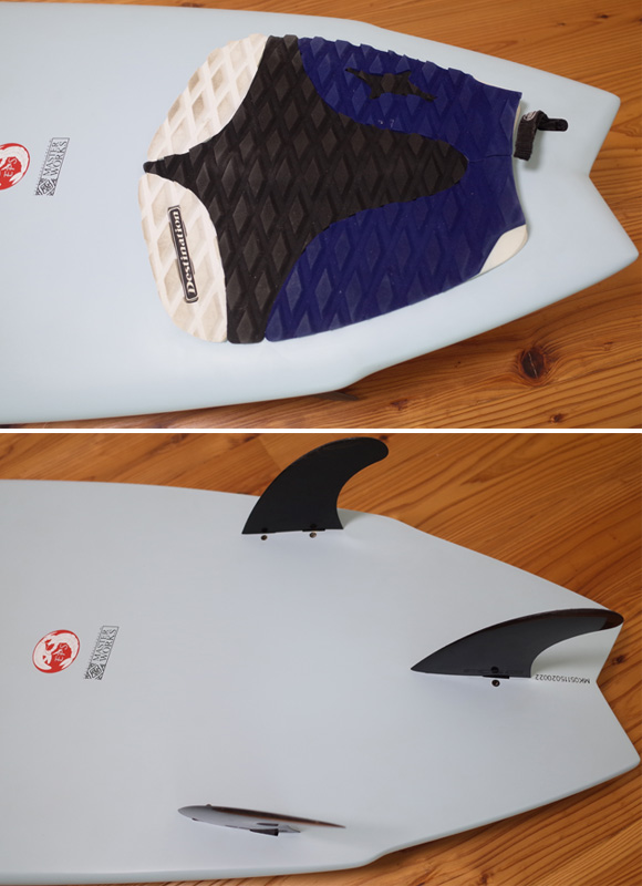 DUAL Surfboard EPS 中古ショートボード 5`11 MASTER WORKS tail No.96291326